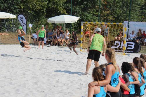 Schiedsrichter-Schulung Beach Handball