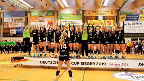 Team Baden-Württemberg I mit sechs Siegen der souveräne Meister des Deutschland-Cups