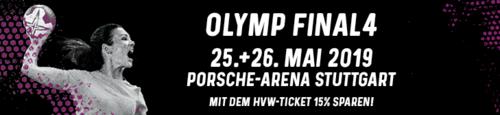 Vorverkauf für OLYMP Final4 gestartet