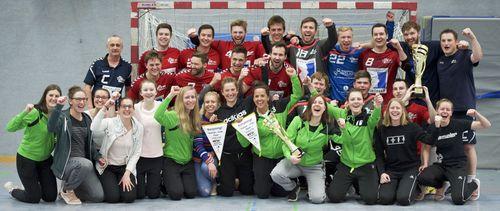 Die TSG Söflingen II und die HSG Langenau-Elchingen sind neuer Bezirkspokalsieger