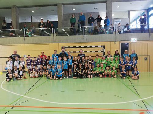 Der Handball-Nachwuchs aus dem Bezirk Neckar-Zollern beendet die Handballsaison2018 / 2019