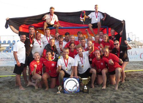 U18-Beach-EM: Top-Ausbeute im Sand von Ulcinj