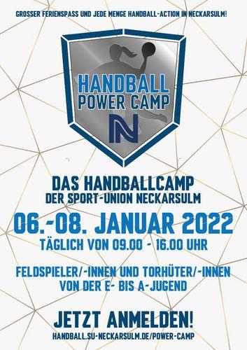 2. Handball Power Camp der Sport-Union Neckarsulm