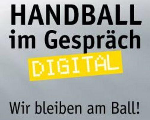 """Neue Veranstaltungsreihe: """"Handball im Gespräch – digital"""""""