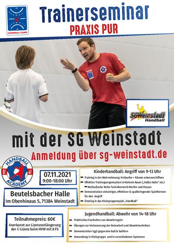 Dezentrale Trainerfortbildung in Weinstadt-Beutelsbach