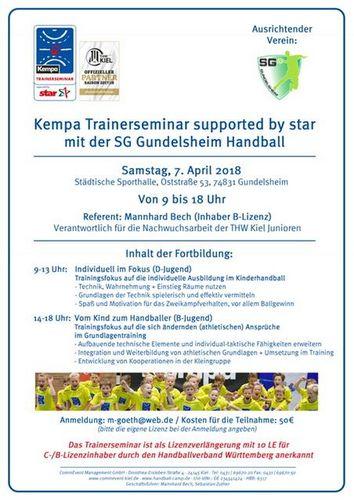 Trainerseminar der SG Gundelsheim