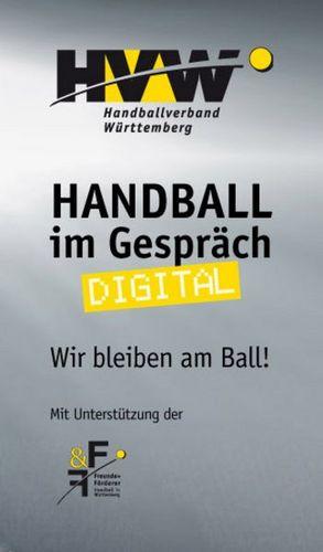 """Handball im Gespräch – digital"" Fortbildungsreihe des HVW"